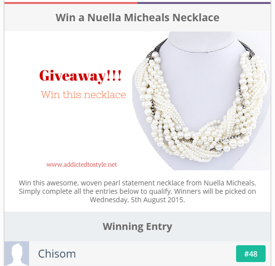 Jewellery Giveaway