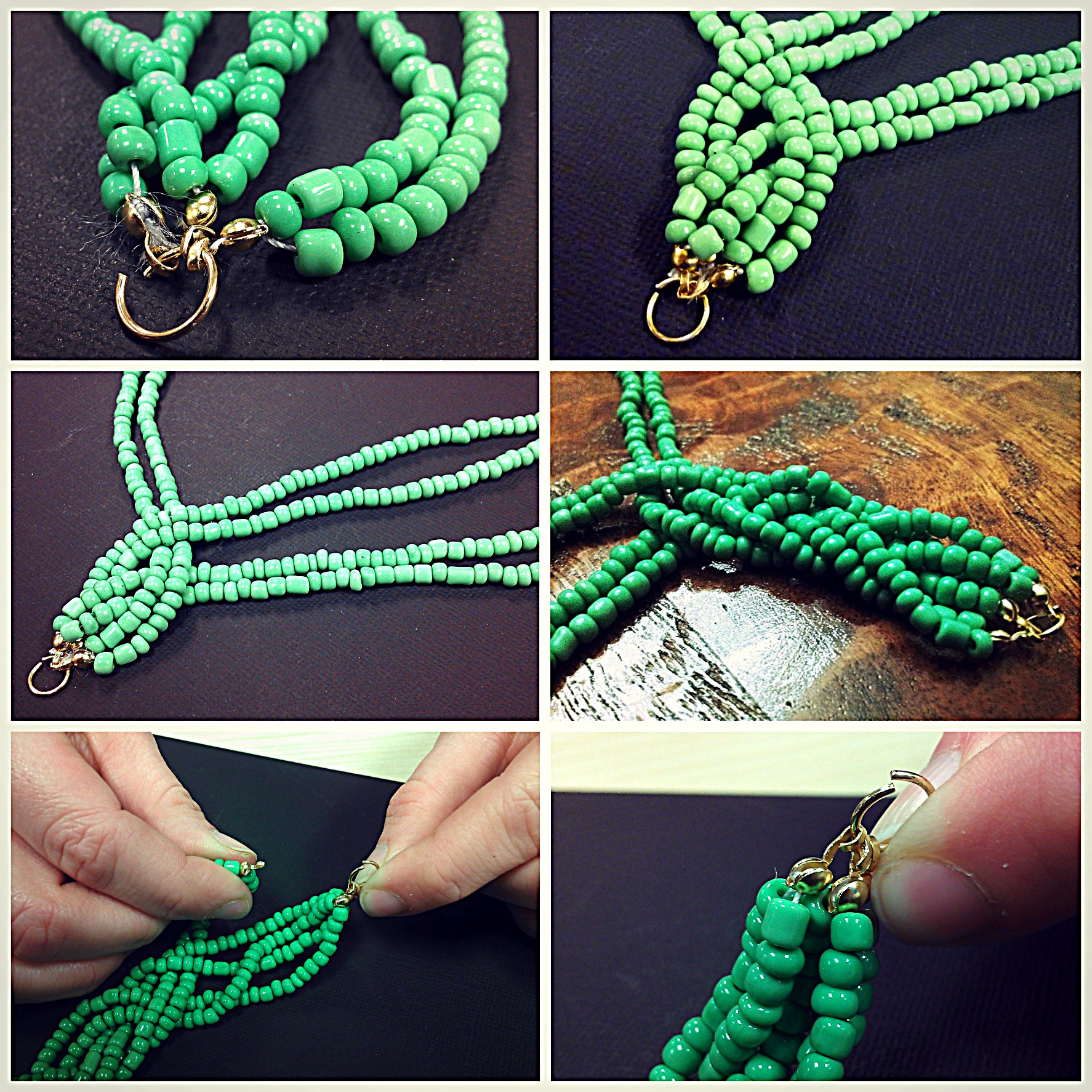 How to make beads necklace – Addicted to Style