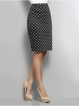 polka dot skirt2