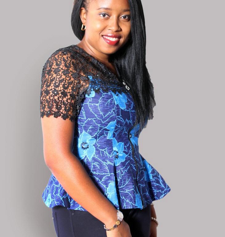 6 pieces ankara peplum blouse